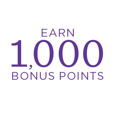 Earn 1,000 Crown Rewards Bonus Points