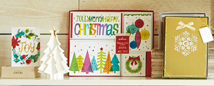 Stock up on Christmas and Hanukkah boxed cards.