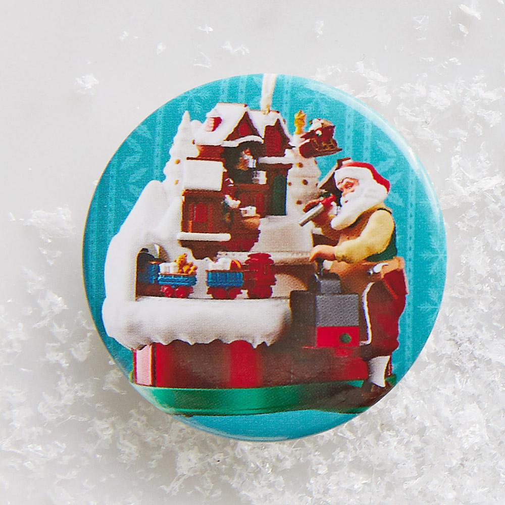 Santa's Magic Train Button