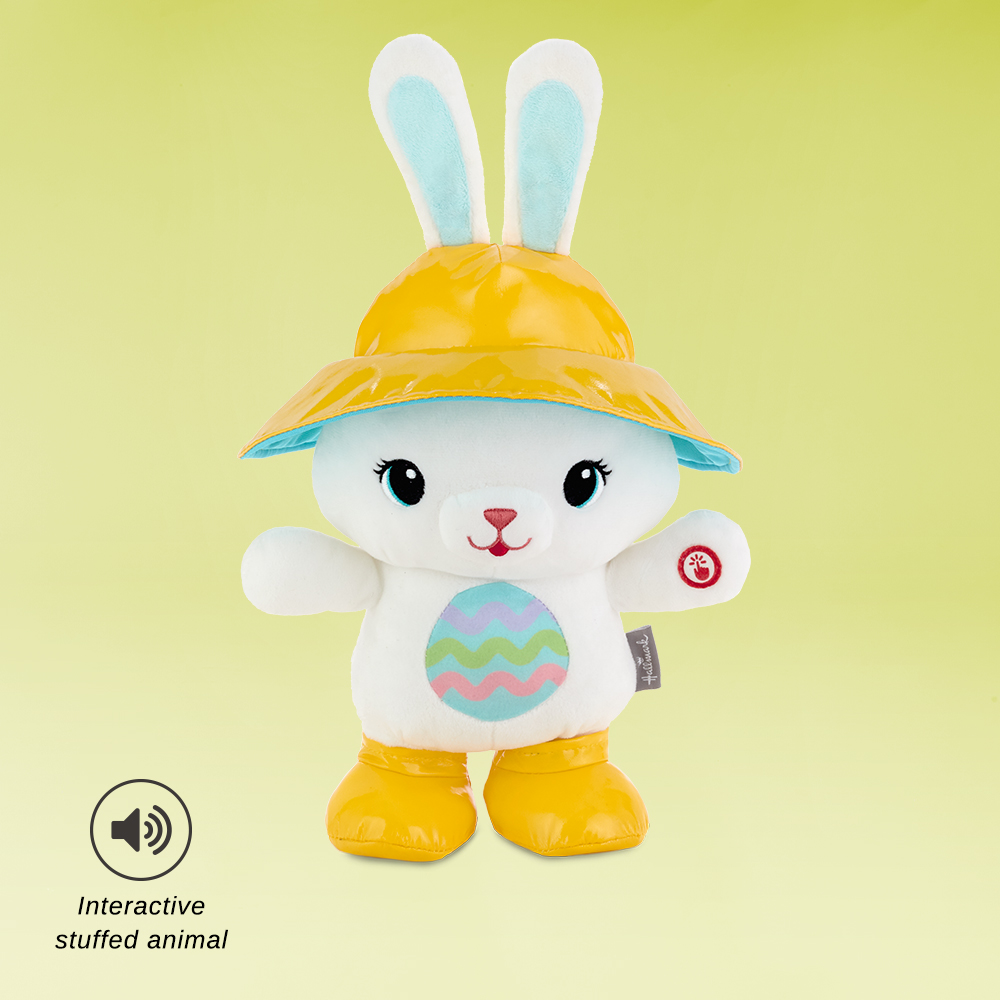 Hoppy Day Bunny Musical Stuffed Animal