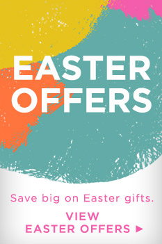 Save with Easter special offers.