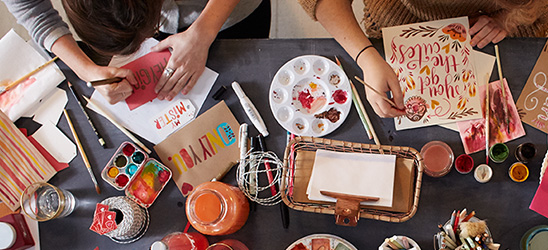 Think.Make.Share., a blog from the creative studios at Hallmark, offers fun tips and behind-the-scenes stories.