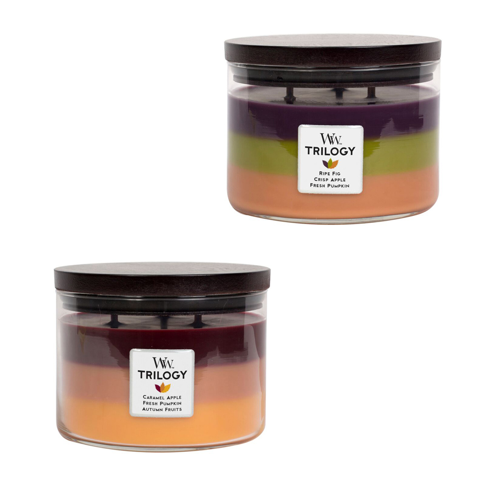 WoodWick Fall Trilogy Candles