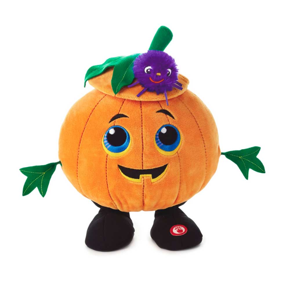 Dance-o-lantern Singing Pumpkin Interactive Stuffed Animal