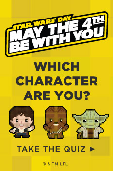 Which Star Wars™ character are you? Take our quiz and see.