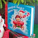 """""""Magical Sleigh? Snow Way!"""" Book"""