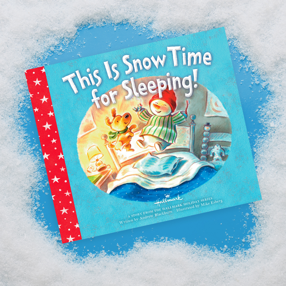 This Is Snow Time for Sleeping! Book