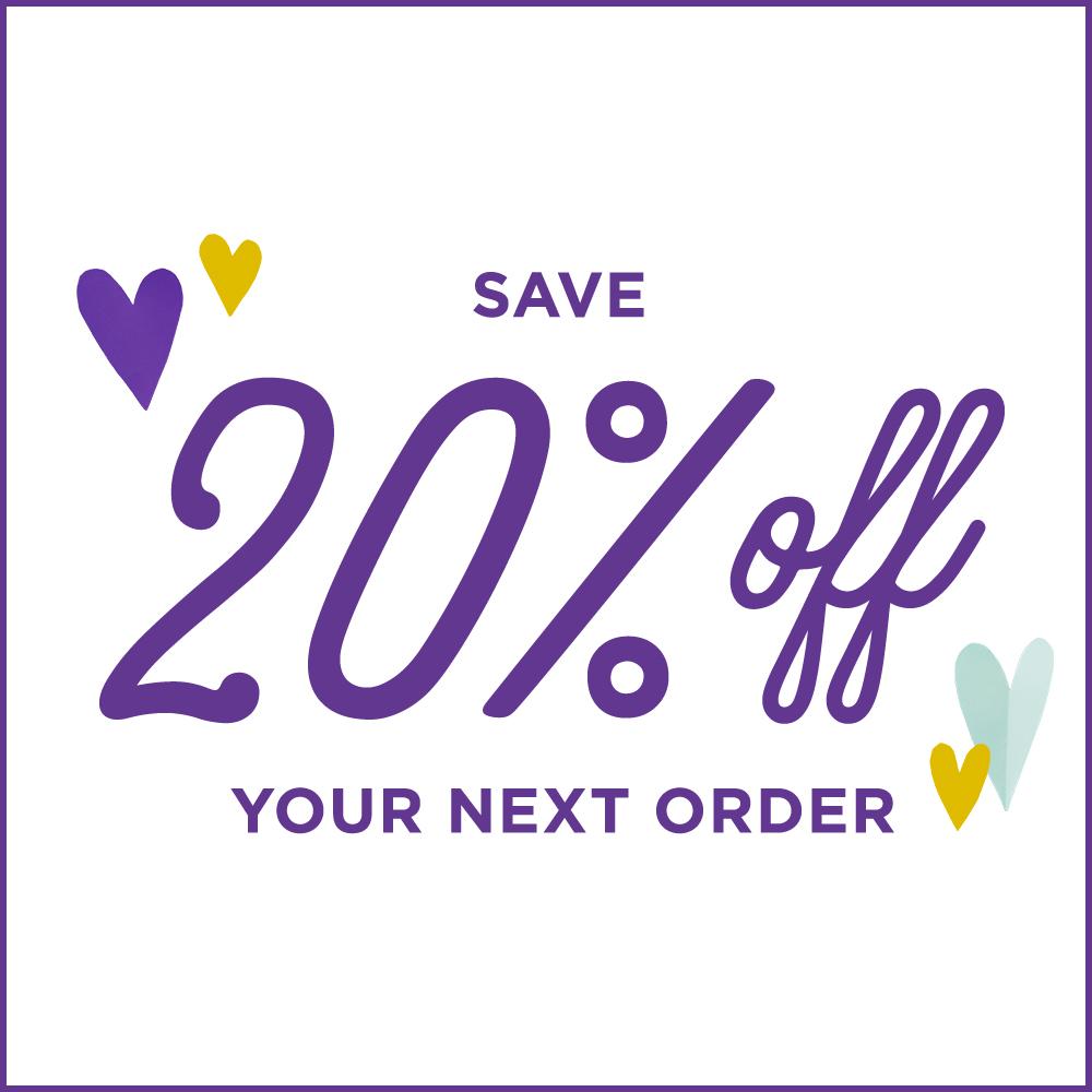 Special 20% off coupon for shopping Hallmark.com