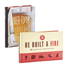 Save $5 on Hallmark Beertopia and He Built a Fire Books