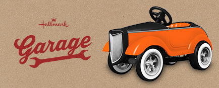 Hallmark Garage offers gifts for the gearhead in your life.