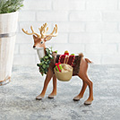 Father Christmas's Reindeer Tabletop Decor