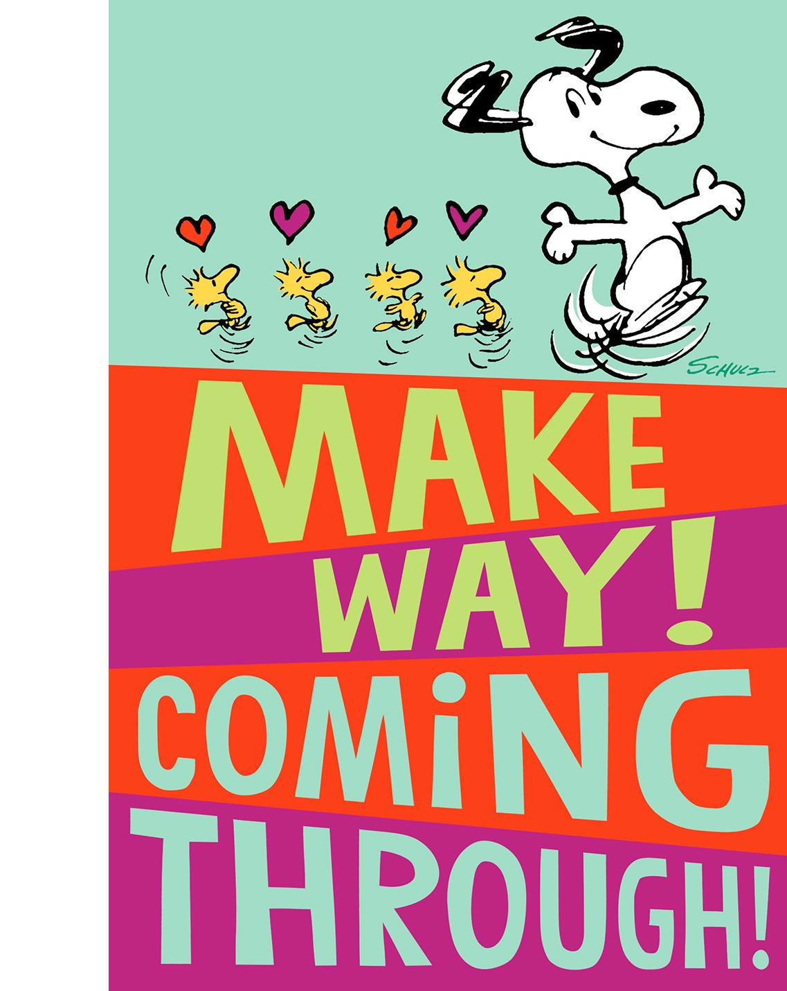 Peanuts® Snoopy And Woodstock Valentineu0027s Day Card