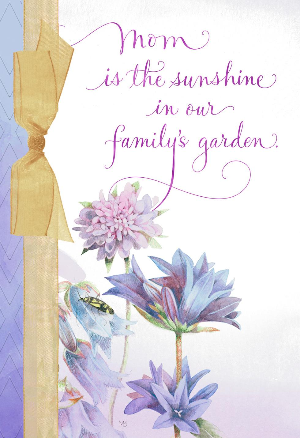 You are sunshine marjolein bastin mothers day card greeting cards you are sunshine marjolein bastin mothers day card m4hsunfo