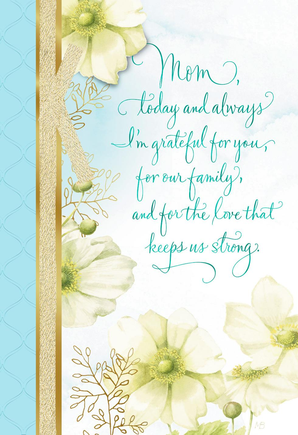 Marjolein bastin love keeps us strong mothers day card greeting marjolein bastin love keeps us strong mothers day card m4hsunfo