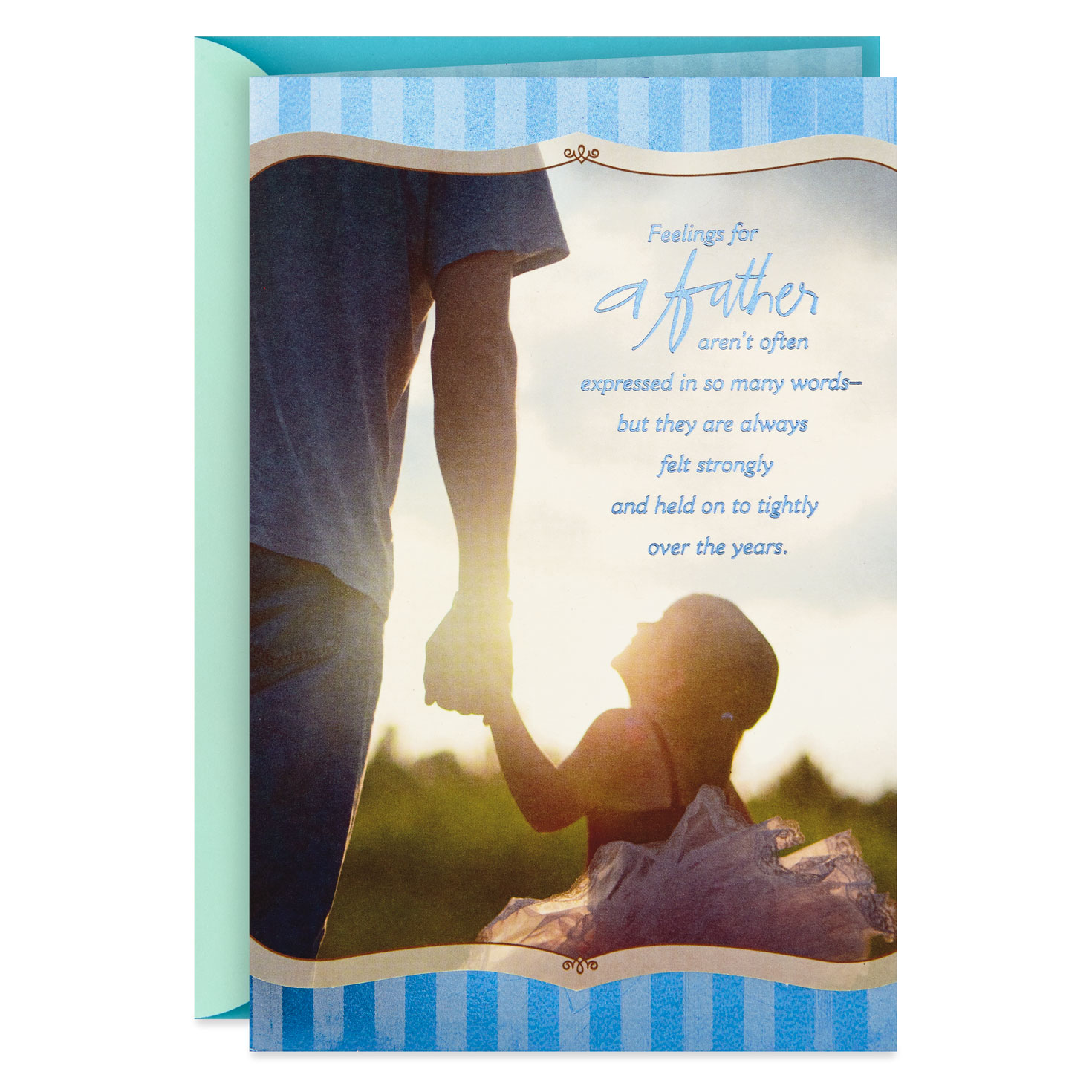 Daughter birthday card ~ You/'ll Always Be Our Little Girl       quality card