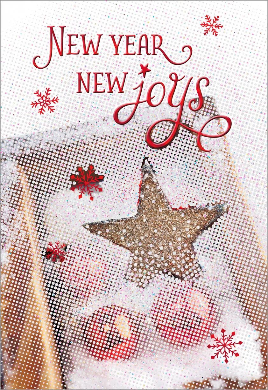 joys  year card greeting cards hallmark