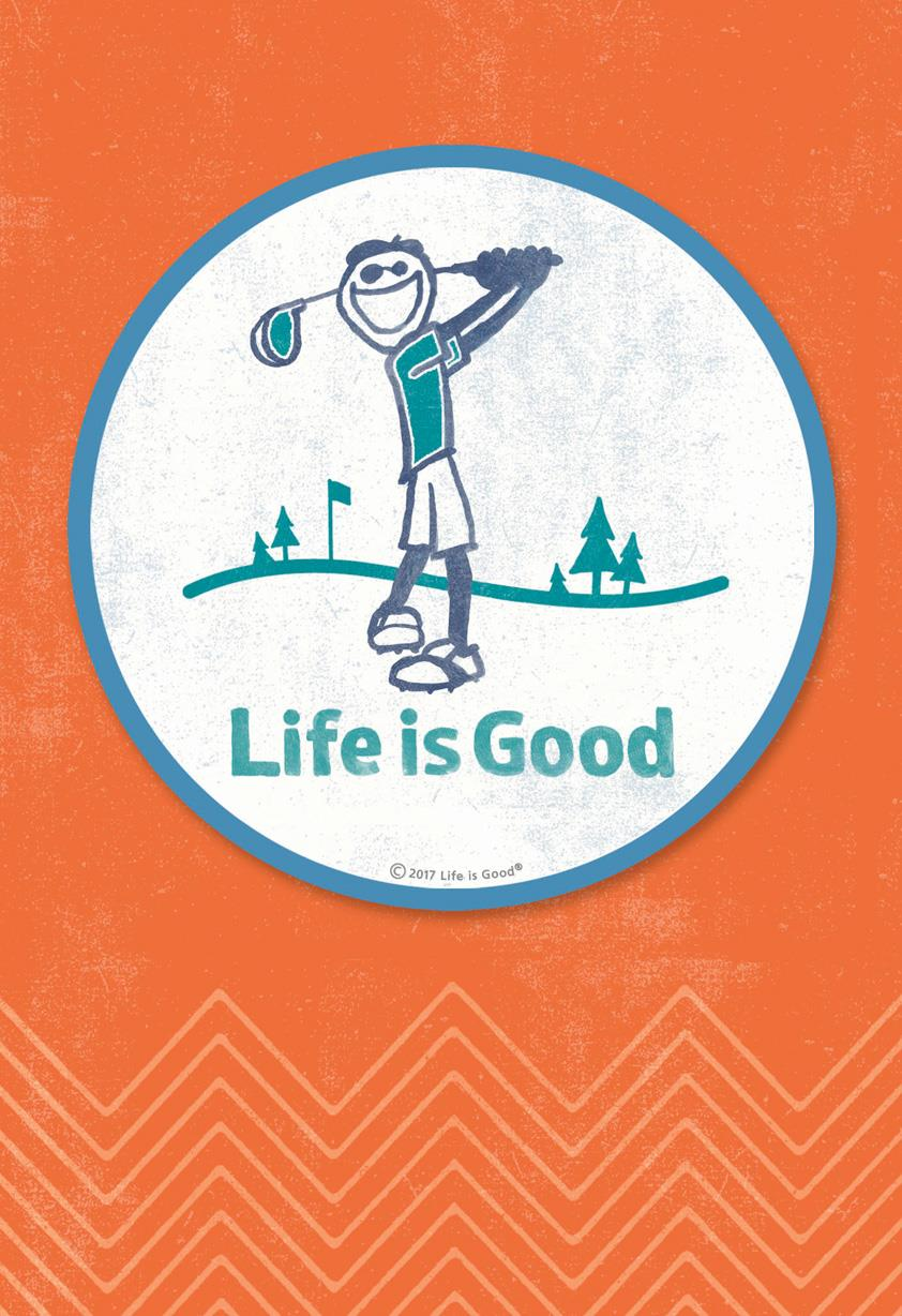Life is Good Golf Coaster Birthday Card Greeting Cards Hallmark – Birthday Cards Golf