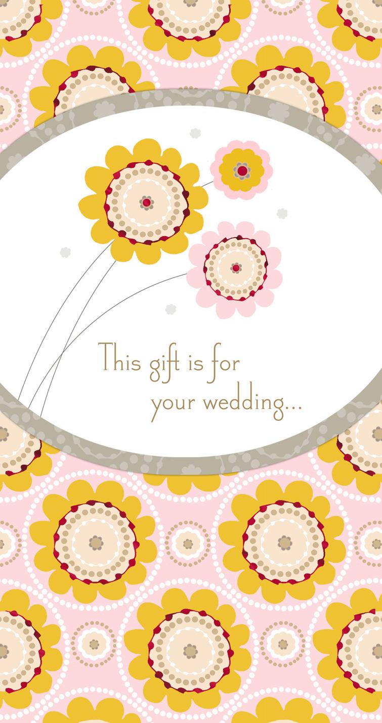 Best Wishes for Always Money Holder Wedding Card - Greeting Cards ...