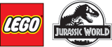 LEGO® Jurassic World™ Velociraptor Blue Ornament, , licensedLogo