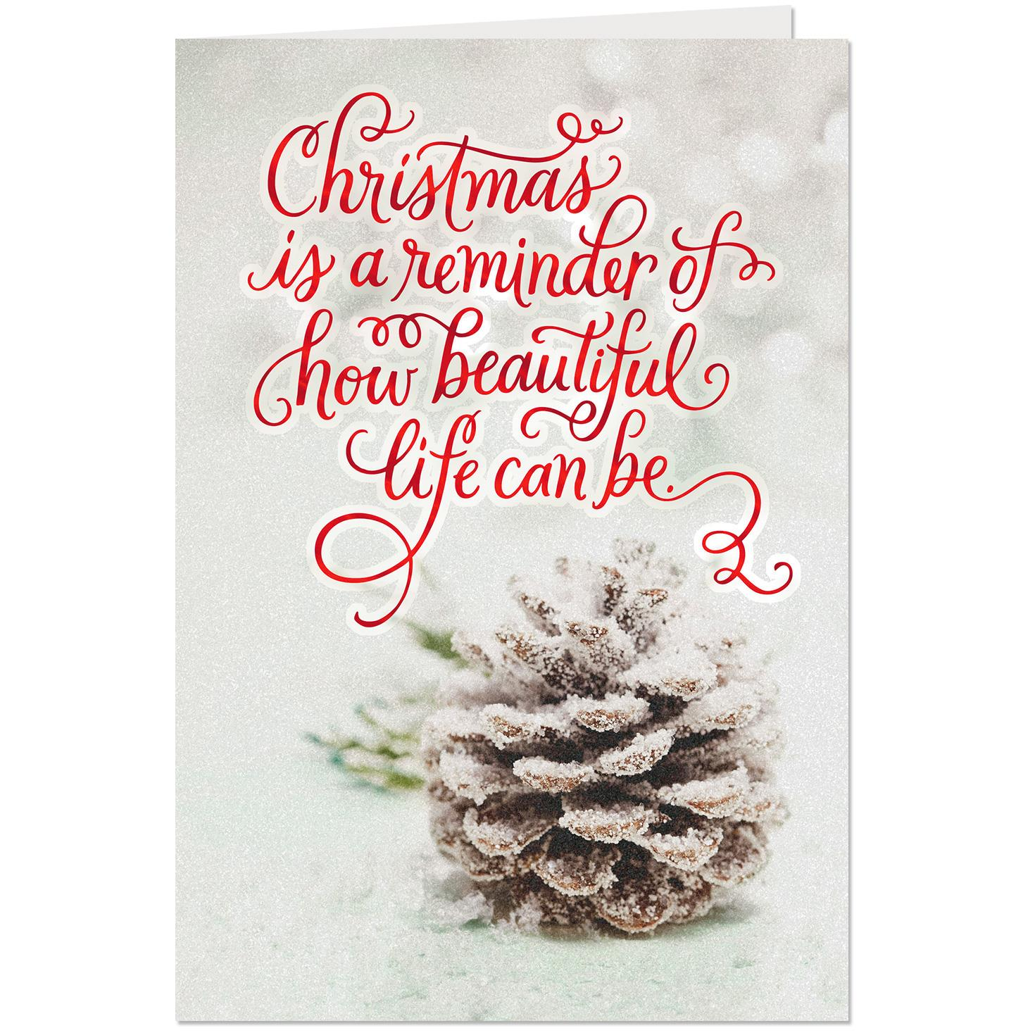 Our Beautiful Life Together Romantic Christmas Card Greeting Cards