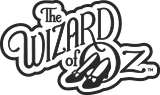 The Wizard of Oz™ Dorothy™ Gets Carried Away Ornament, , licensedLogo