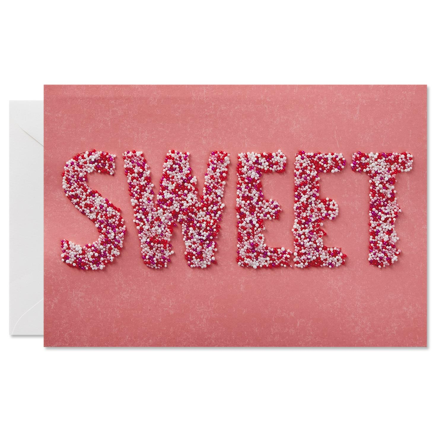 Sweet Sprinkles Valentine s Day Card for Anyone Greeting Cards