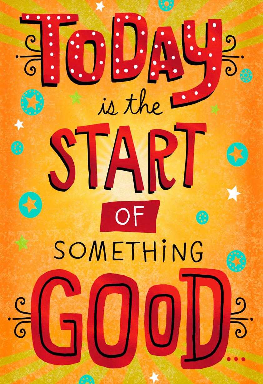 Start of something good birthday card greeting cards hallmark start of something good birthday card bookmarktalkfo Image collections