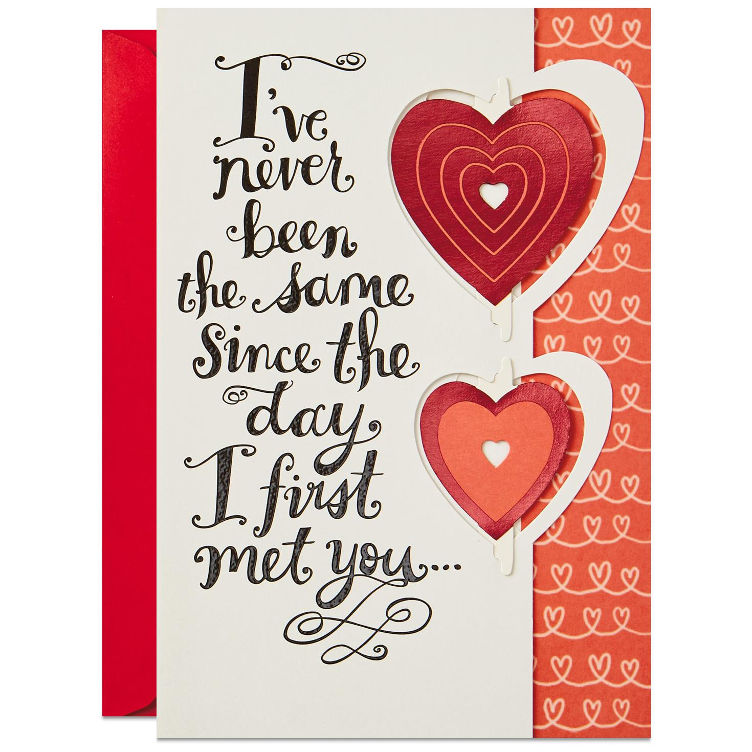Since the first day we met romantic sweetest day card greeting since the first day we met romantic sweetest day card m4hsunfo
