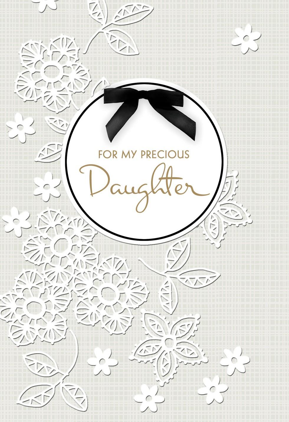 Daughter On Your Wedding Day Card Greeting Cards Hallmark