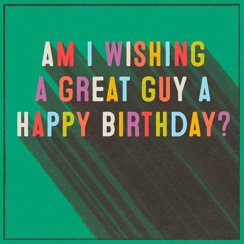 Great guy musical birthday card greeting cards hallmark great guy musical birthday card bookmarktalkfo Gallery