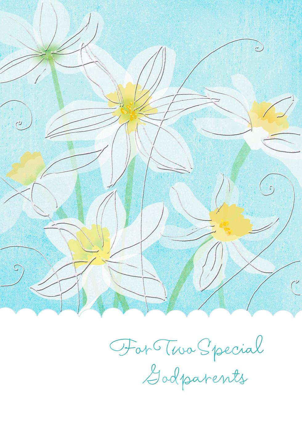 Heartfelt thanks easter card for godparents greeting cards hallmark heartfelt thanks easter card for godparents negle Image collections