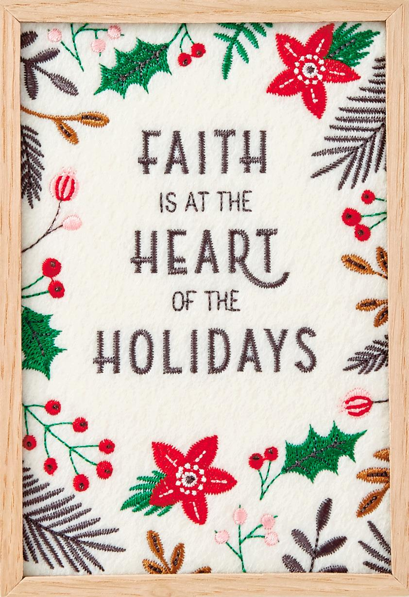 heart of the holidays christmas card  greeting cards