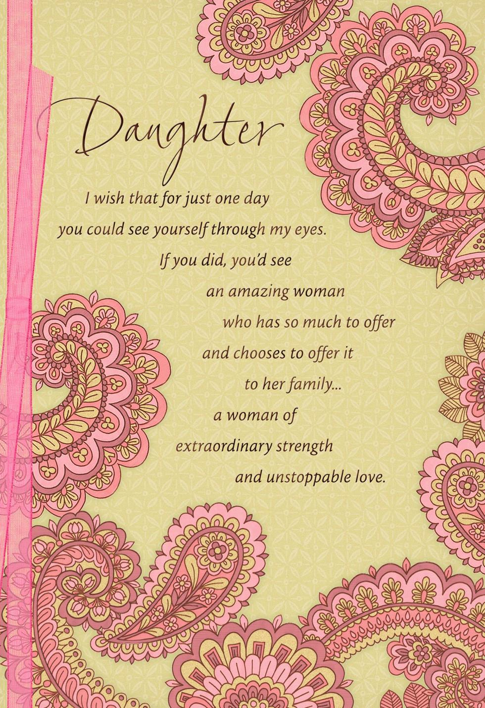 daughter day cards