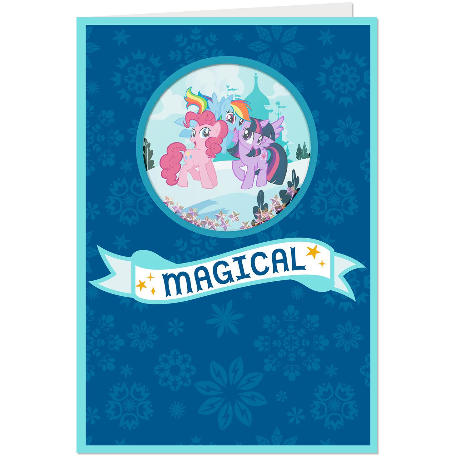 My Little Pony Magical Christmas Card With Sound Greeting Cards