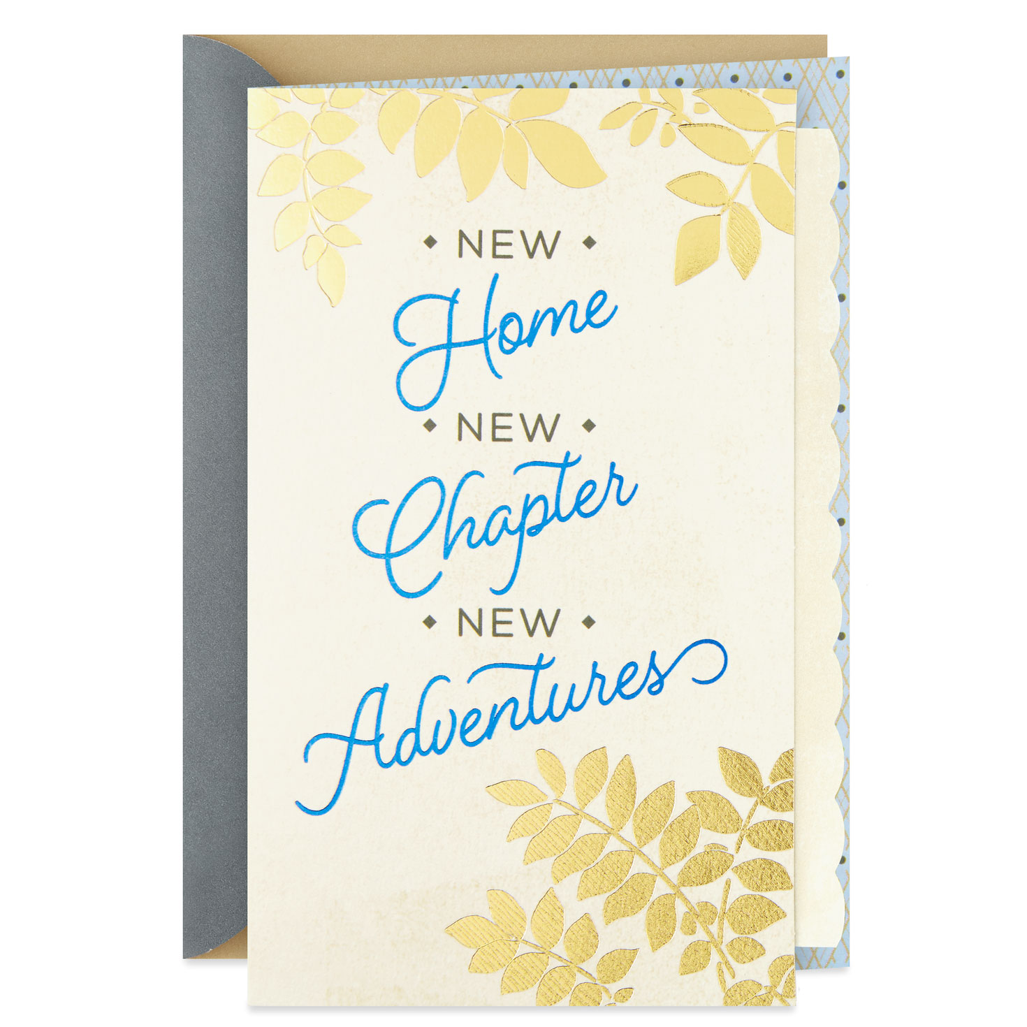 New Chapter New Adventures New Home Congratulations Card