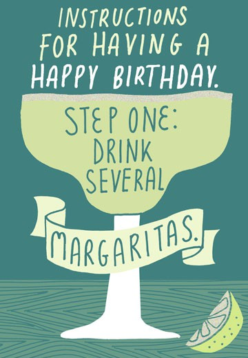 Instructions for Happy Birthday Card - Greeting Cards ...
