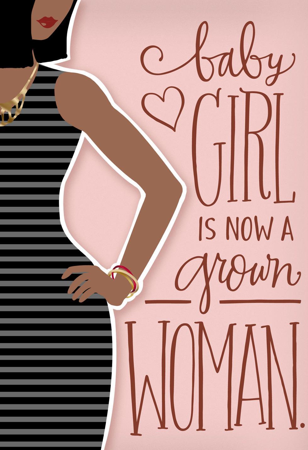 Still My Baby Girl Birthday Card Greeting Cards Hallmark – Birthday Cards Baby