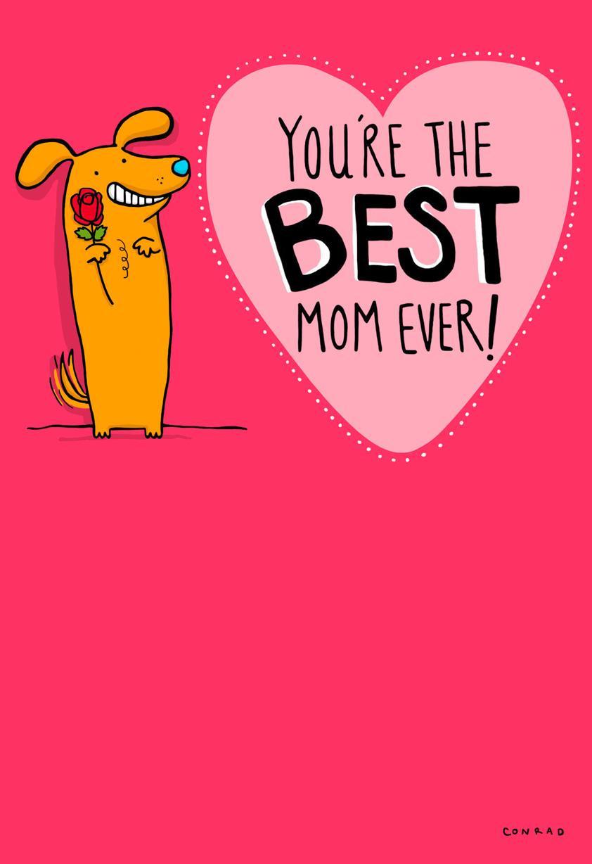 Best mom ever valentines day card greeting cards hallmark m4hsunfo