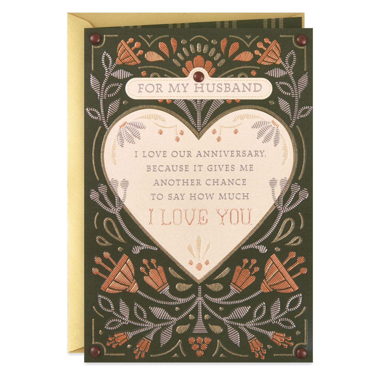 Another Chance to Say How Much I Love You Anniversary Card ...