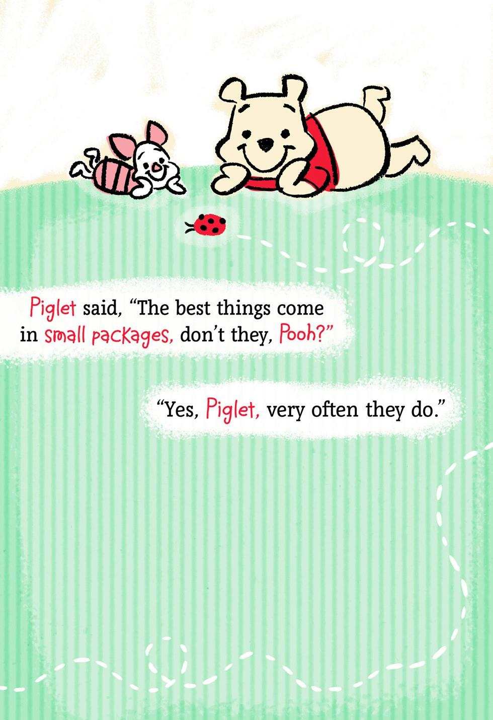 Winnie the pooh and piglet new grandchild card greeting cards winnie the pooh and piglet new grandchild card kristyandbryce Choice Image