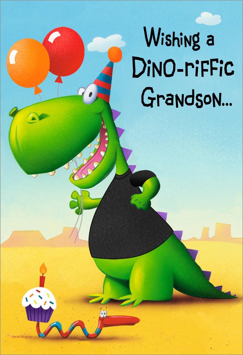 you're dinoriffic, grandson birthday card  greeting cards  hallmark, Birthday card