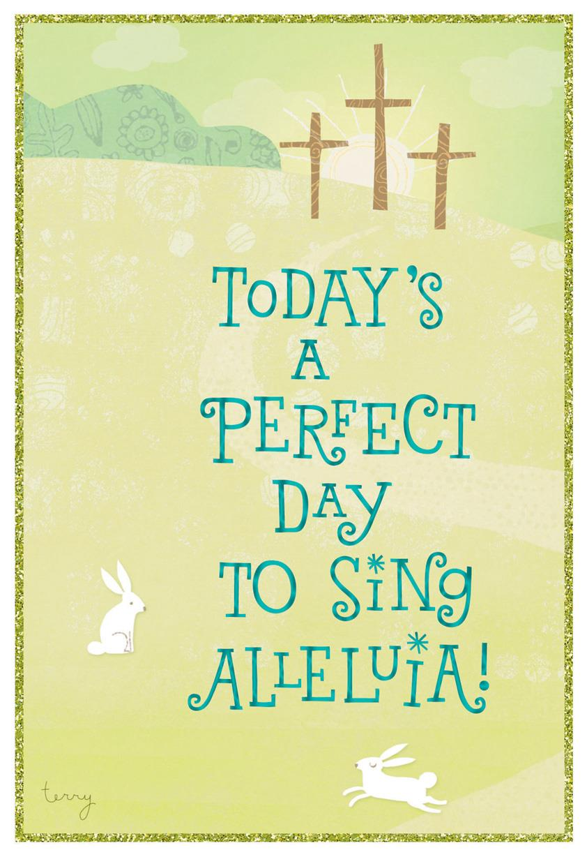 Sing Alleluia Religious Easter Card Greeting Cards Hallmark – Hallmark Easter Cards
