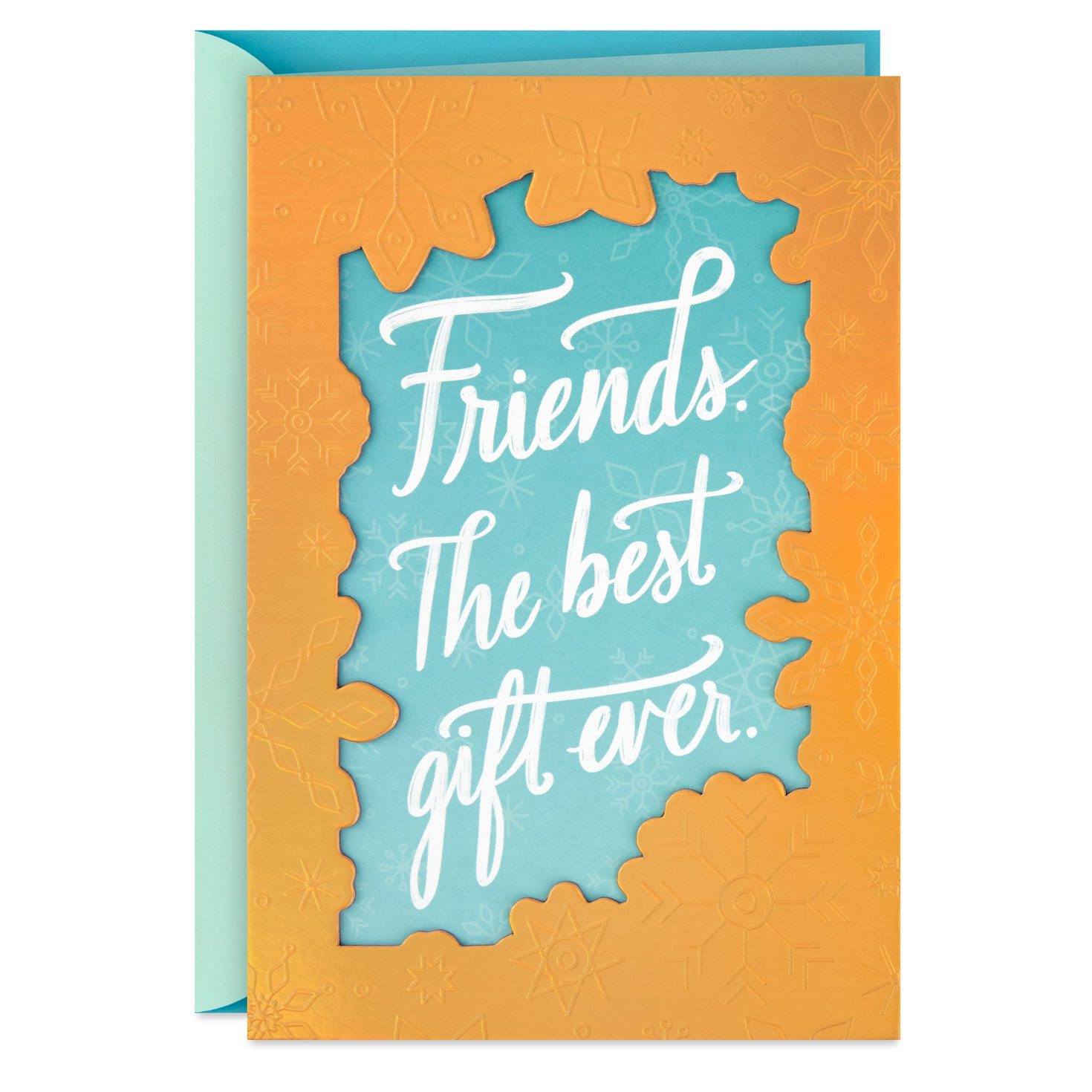 the best gift is a friend like you christmas card