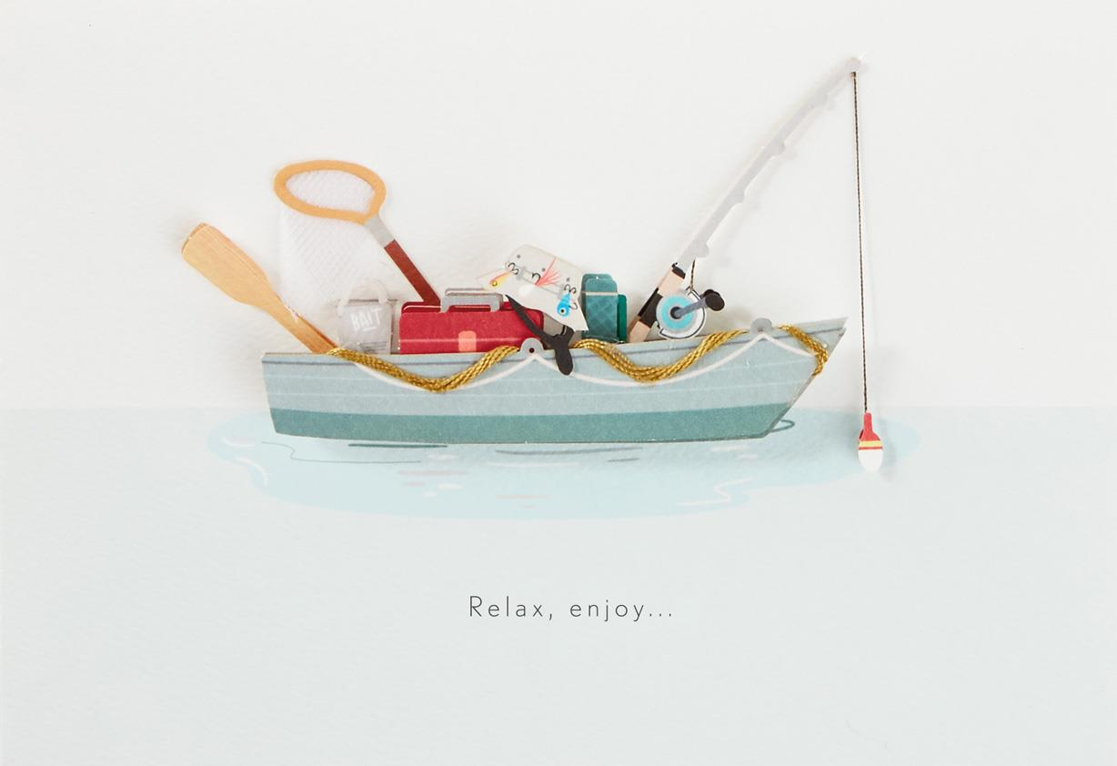 Fishing boat birthday card for dad greeting cards hallmark fishing boat birthday card for dad bookmarktalkfo Gallery