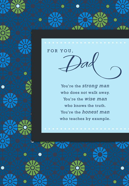 Youre the Man Dad Birthday Card Greeting Cards Hallmark – Example of a Birthday Card