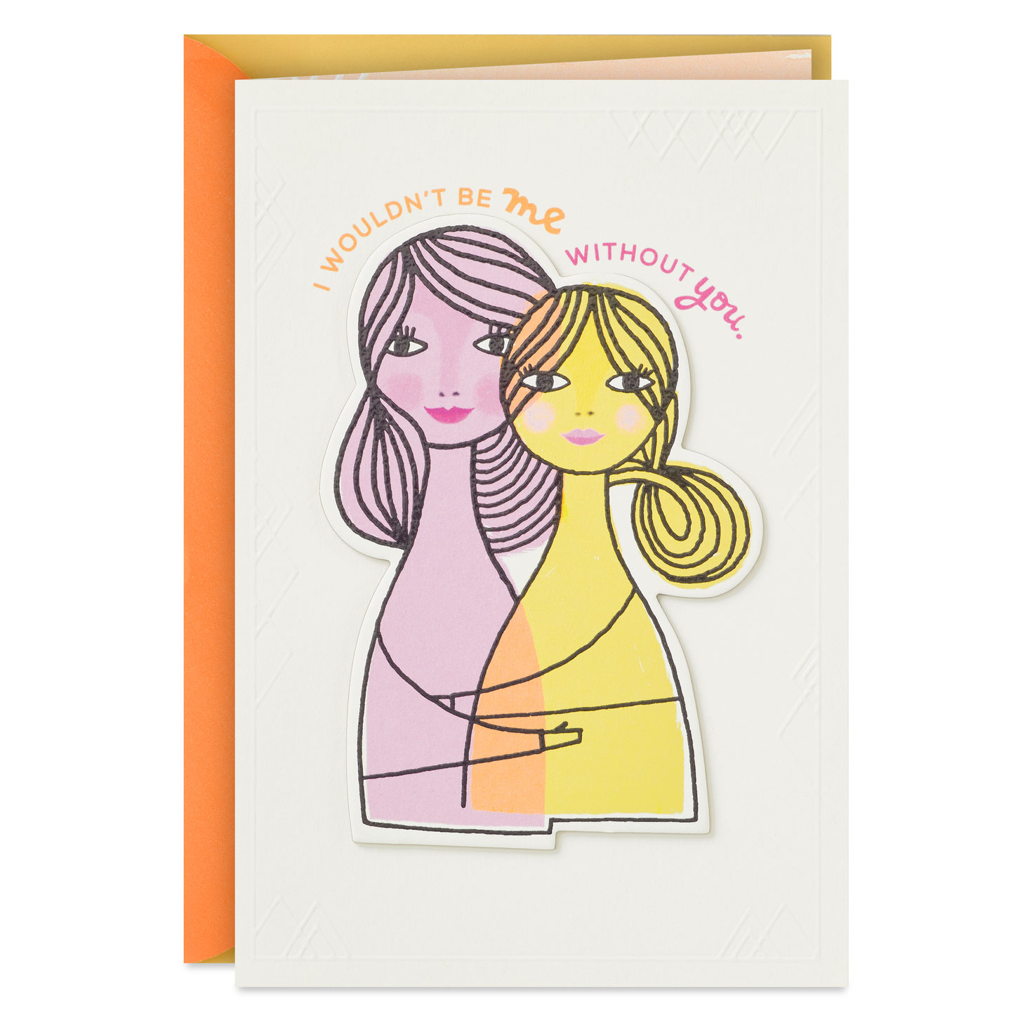 i am a reflection of your love birthday card for her