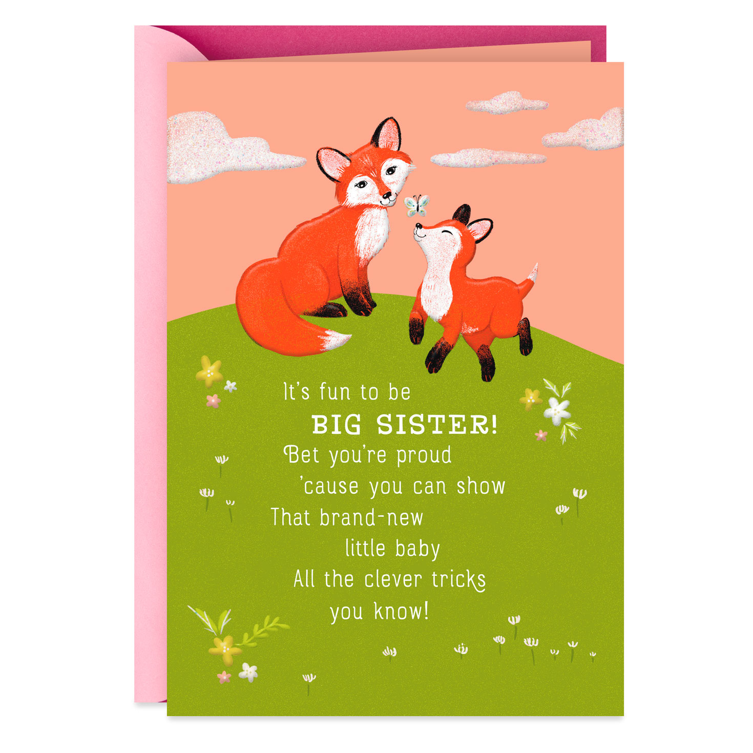 Personalised Superman Style You/'re A Big Brother New Baby Sibling card