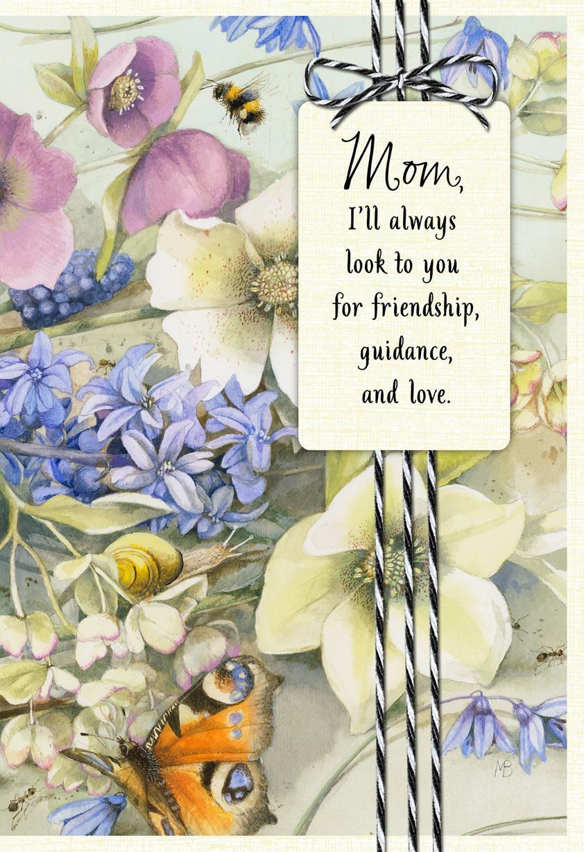 Marjolein bastin i look up to you birthday card for mom greeting marjolein bastin i look up to you birthday card for mom m4hsunfo