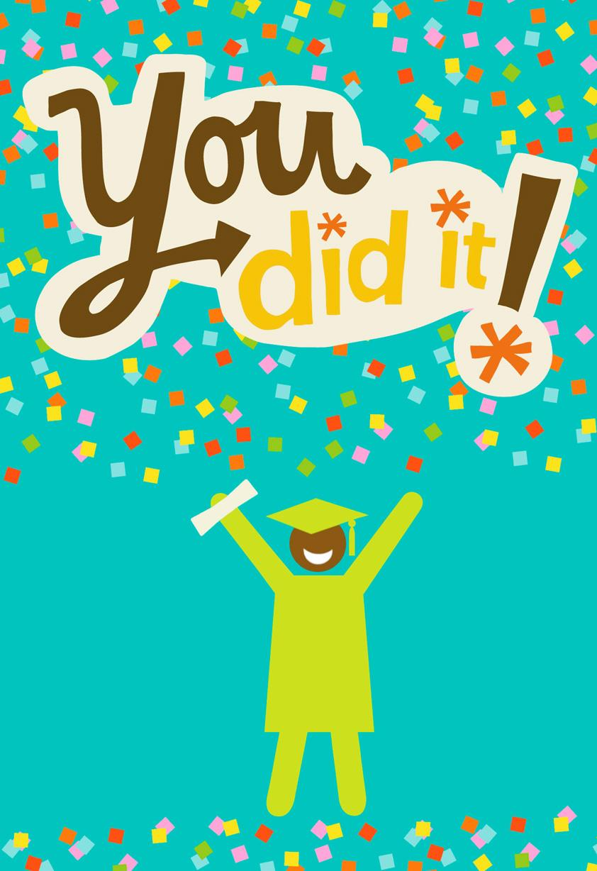You Did It Graduation Card Greeting Cards Hallmark