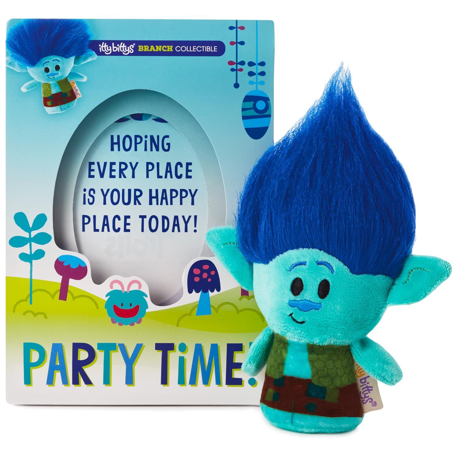 itty bittys DreamWorks Trolls Branch Birthday Card With Stuffed